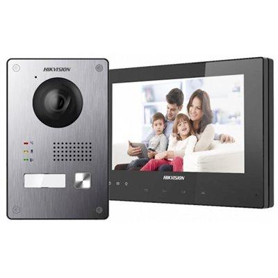 2 draads videofoonsysteem Hikvision