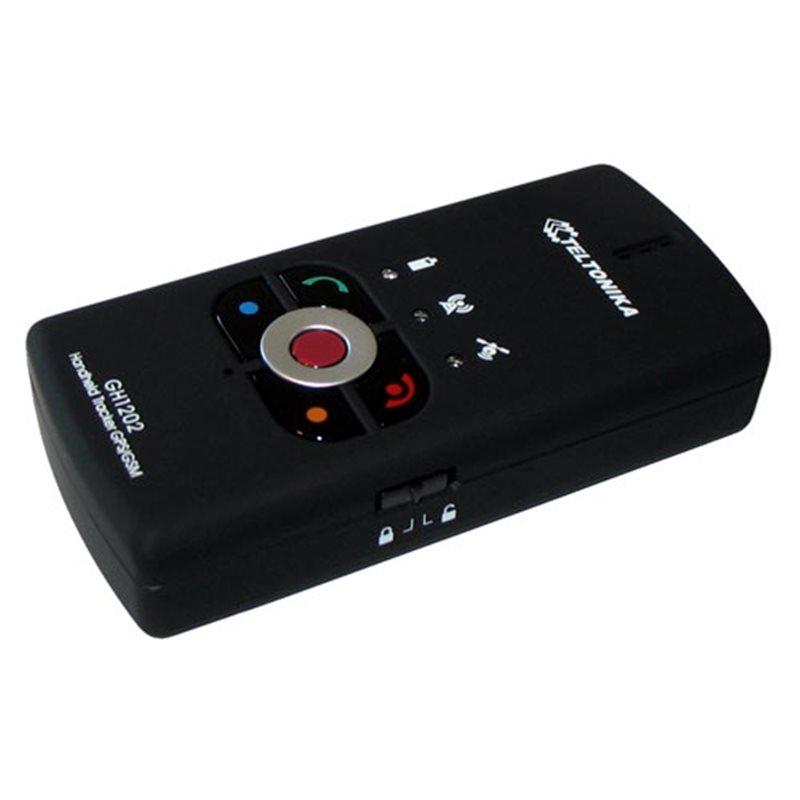 Persoonlijke tracker met alarmknop
