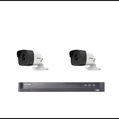 2 bullet camera's + DVR + schijf