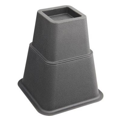 Secucare Bed/Meubel verh. 13cm zwart