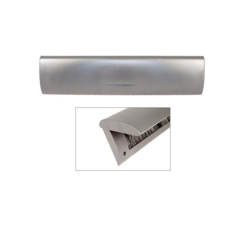 Doorline tochtborstel met binnenklep antraciet
